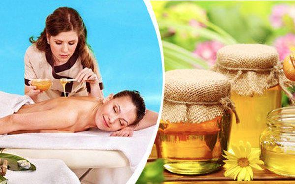 Medová detoxikační masáž v délce 30 - 45 minut