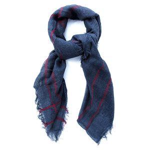 Dámský tmavě modrý šátek Belle & Bloom