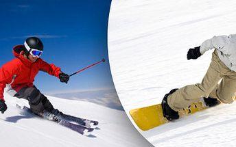 Ruční velký servis lyží nebo SNB
