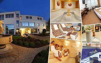 Lázně Luhačovice - pobyt v lázeňském & wellness hotelu Niva pro 2 osoby na 3 dny s bohatou polopenzí a vstupem do vnitřního bazénu se slanou vodou! Slatinný zábal, pitná kůra, vstup do luxusního wellness centra - finská, lesní sauna