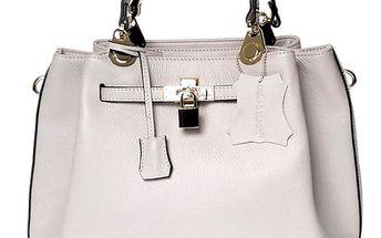 Dámská kožená kabelka se zámečkem Belle & Bloom