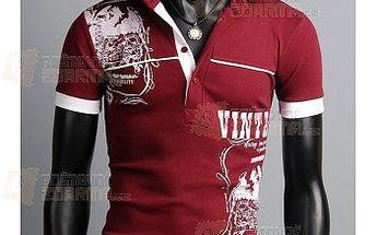 Pánské polo triko s potiskem - 3 barvy, 4 velikosti a poštovné ZDARMA! - 9999906010