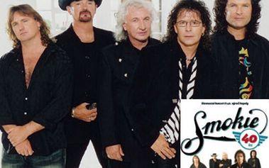 Koncert legendární glamrockové anglické skupiny Smokie v sále Sono Centrum Music Club.
