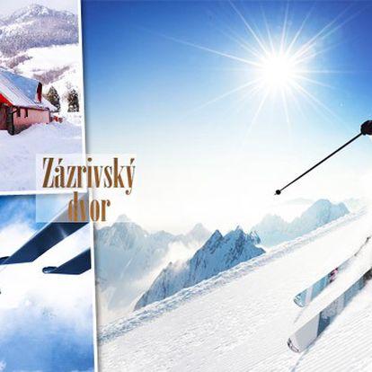 Perfektní zimní radovánky a lyžovačka na Slovensku