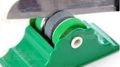 Bezpečnostní brousek na nože zelený a poštovné ZDARMA! - 9999916338