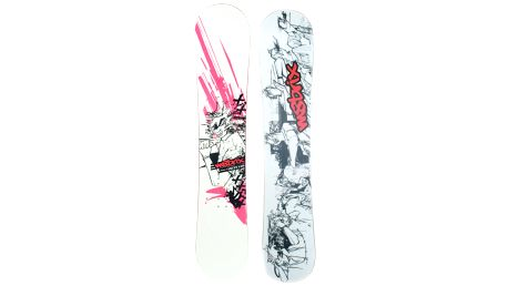 Divoký snowboard Matrix Skitz s úžasným designem