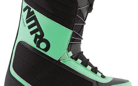 Univerzální snowboardové boty Fader TLS black/mint teal
