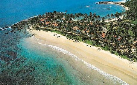 hotel DICKWELLA VILLAGE, Srí Lanka, letecky, polopenze