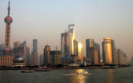 Čína vysokorychlostními vlaky, Asie, Čína, letecky, strava dle programu