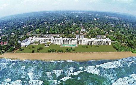 Hotel CITRUS WASKADUWA, Srí Lanka, letecky, polopenze