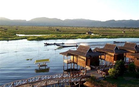 Velký okruh Barmou, Asie, Barma, letecky, polopenze