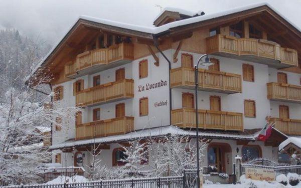 Itálie, oblast Madonna di Campiglio / Pinzolo, snídaně, ubytování v 3* hotelu na 8 dní
