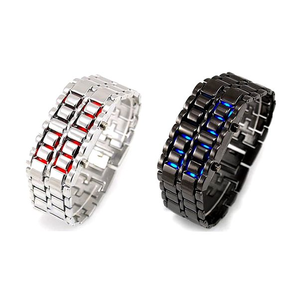 Předběhněte dobu s nevšedními LED hodinkami!