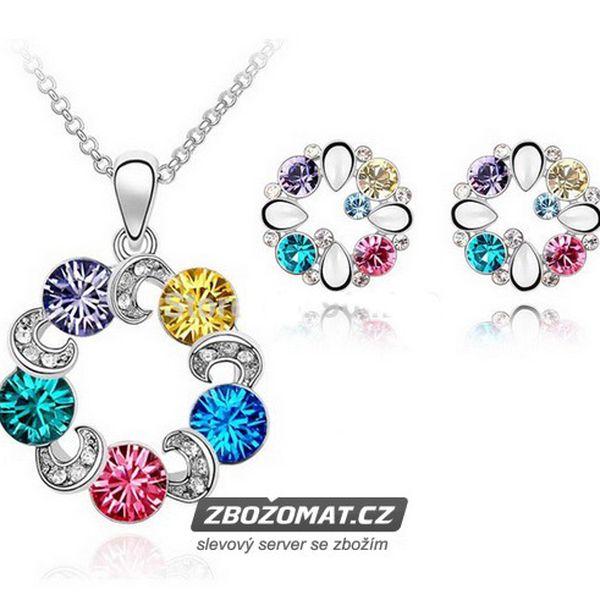 Set náhrdelníku a náušnic Sakura!