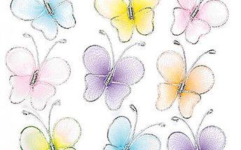 Látkoví mini motýlci