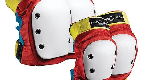 Set chráničů kolen a loktů Knee + Elbow Set retro