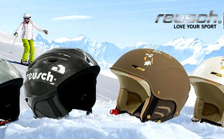 Kvalitní přilby Reusch na lyže i snowboard
