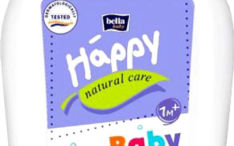 Bella Baby Happy Natural Care mycí gel na tělo a vlasy 300ml