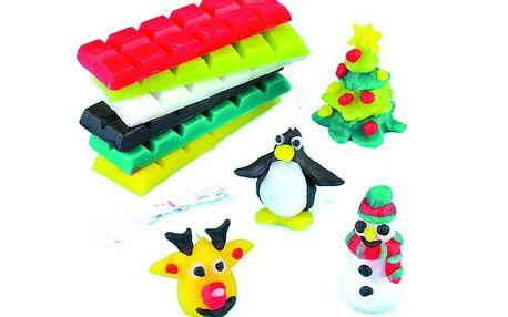 Sada k výrobě vánočních svíček