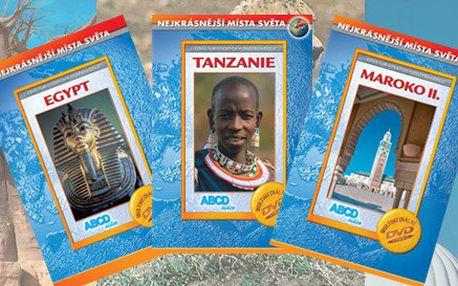 Sada deseti cestopisných filmů z Afriky na DVD