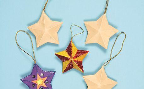Hvězdičky k dotvoření (6 ks)