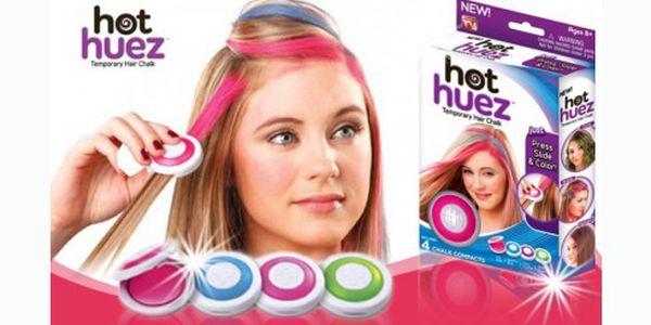 Smývatelné barvy na vlasy s báječnou slevou! Vytvořte si jednoduše nový účes pomocí tohoto pomocníka a oslňte každý den jinou barvou vlasů!