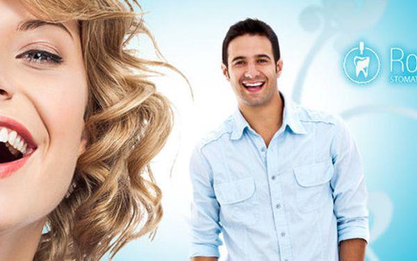Dentální hygiena nebo ordinační bělení zubů 3v1
