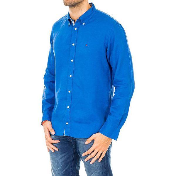 Pánská sytě modrá košile Tommy Hilfiger