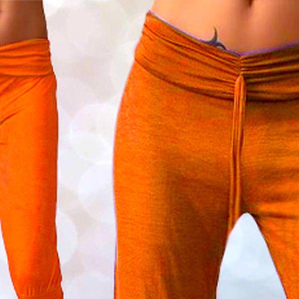 Trendy tříčtvrteční kalhoty aladinky!