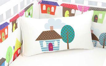 Praktický mantinel Happy Homes do dětské postýlky
