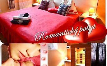 Pobyt pro mou lásku! Romantický pobyt na dvě noci ve stylovém hotelu pro dvě osoby s hýčkáním. 60 km od Prahy. ubytování na 2 noci pro dva, 2x snídaně, 2x elixír mládí, 1x slavnostní večeře, 60 min privátní infrasauna s lahví vína a ovocnou mísou, 10% sle