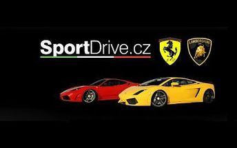 30minutová jízda ve Ferrari F430 nebo Lamborghini Gallardo