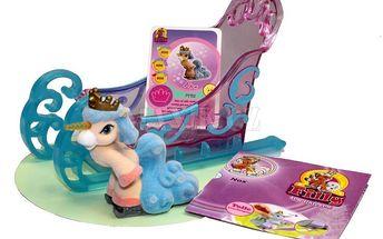 Koníčci na bruslích Filly Ice Unicorn saně