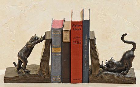 Kočičí knižní zarážky