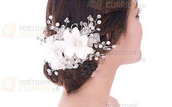 Svatební dekorace do vlasů a poštovné ZDARMA! - 9999916370