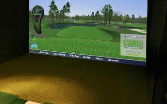 Elitní golfový simulátor s výběrem 36 světových hřišť! RS sportcentrum na Praze 6. Platnost po celý den až pro 6 osob