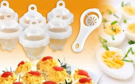 Nádobky na varenie vajíčok Eggies - urobte zo svojho varenia zážitok! Poštovné je v cene kupónu!