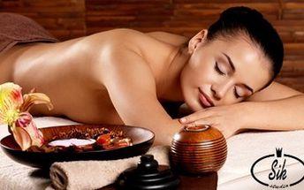 Masáž zad a šíje včetně regenerace lávovými kameny. Osvoboďte vaši mysl a zregenerujte tělo.