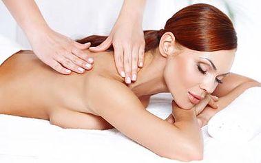 Hodinová relaxační masáž zad a šíje pro odstranění...