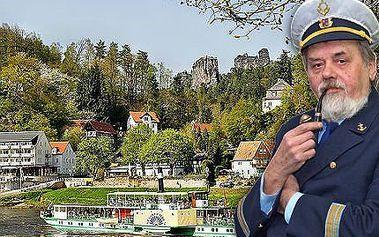 Celodenní plavba lodí do Saského Švýcarska s občerstvením!