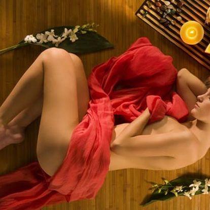 Luxusní arganovo-růžová masáž zad a krční páteře p...