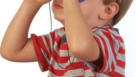 Funkční dětský dalekohled pro malé průzkumníky