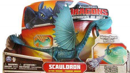 SpinMaster Jak vycvičit draka - Scauldron s mávajícími křídly