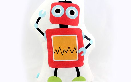 Parádní polštářek Robots 40x30 cm