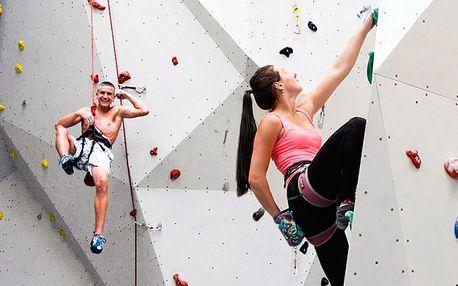 Seznamovací lezecký kurz s instruktorem pro dva