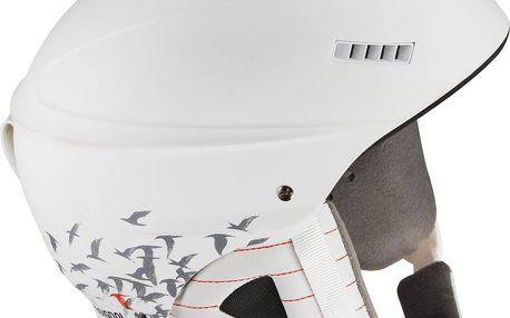 Dámská helma s nízkou hmotností Rossignol Toxic 2.0 Glory Bílá 54