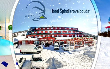 3 nebo 6 dní pro dva v hotelu Špindlerova bouda****