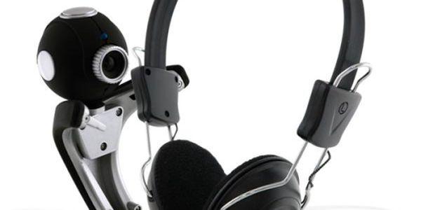 Webkamera + headset Canyon CNR-CP7G1