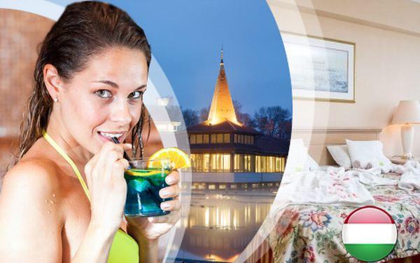 Relaxační pobyt v Hevízi pro DVA na 3 dny s NEOMEZENÝM wellness