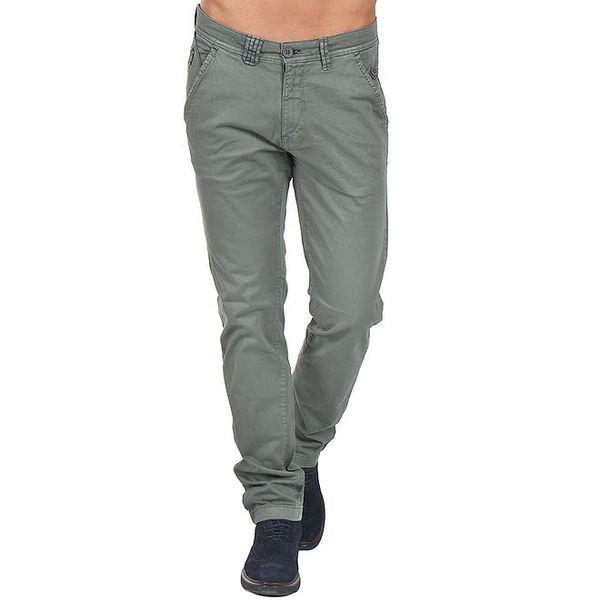 Pánské šedé kalhoty s kapsami Giorgio Di Mare